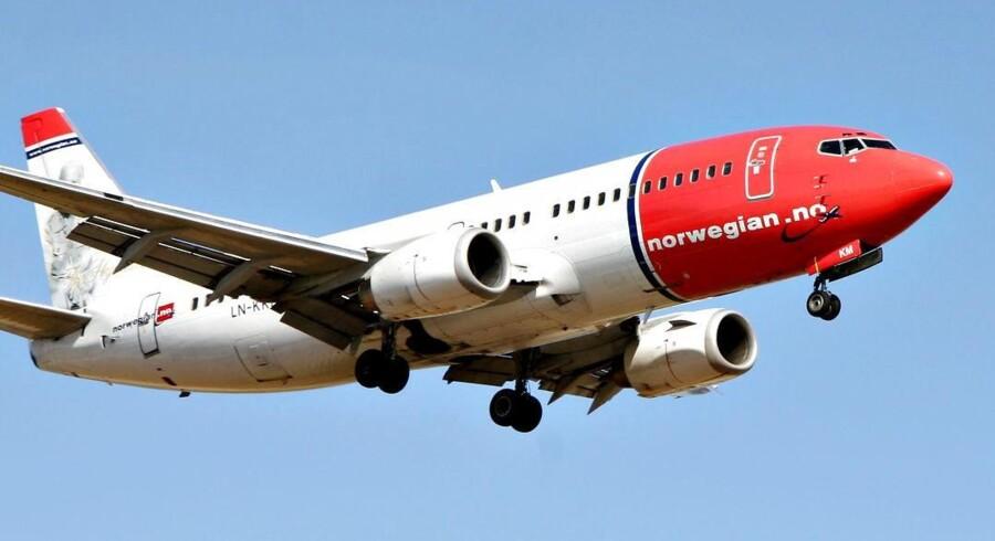 Strejken fortsætter i Norwegian, og nu får piloterne en magtfuld organisations støtte. Foto: Brian Bergmann/Scanpix.