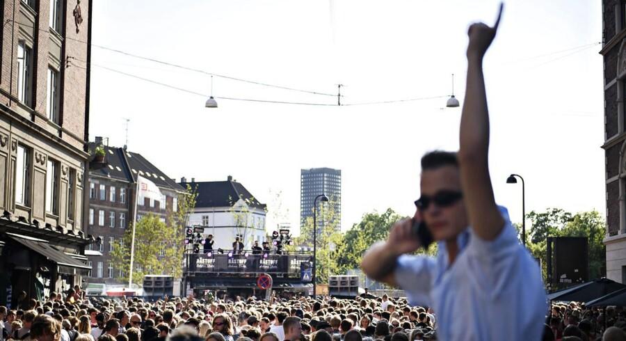 Distortion Festival på Vesterbro i København torsdag den 31. maj 2018. Vesterbro er anden dag på festivalen, som startede onsdag på Nørrebro. Foto: Ritzau Scanpix/Philip Davali