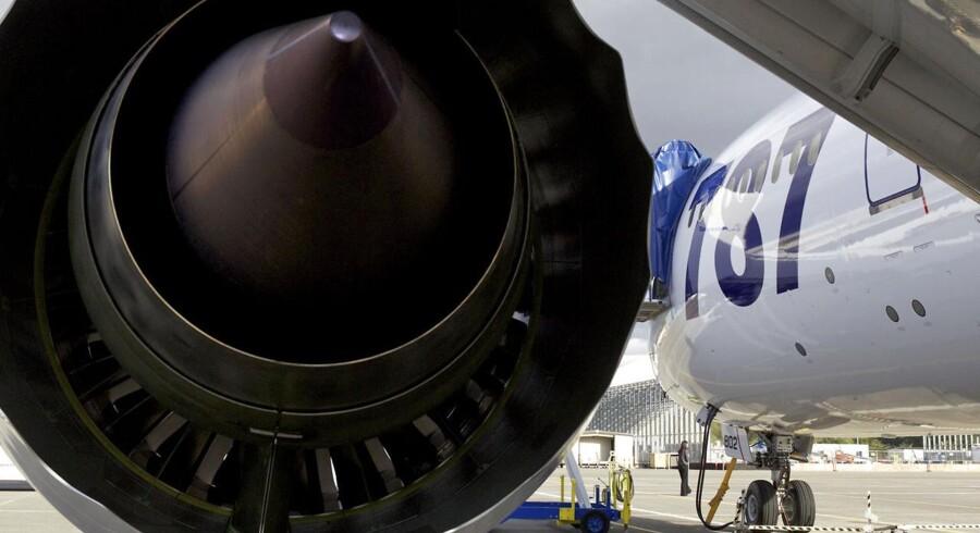 Rolls-Royces Trent 1000-motor sidder på Boeings 787 Dreamliner-fly, og nu har motorfirmaet bygget en kopi af Lego.