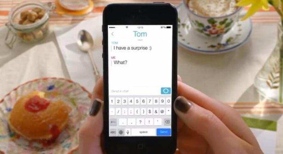 Appen Snapchat, der gør det muligt at udveksle beskeder, der automatisk forsvinder igen efter få sekunder, vil nu tilføje rigtig chat i form af samtaletråde.
