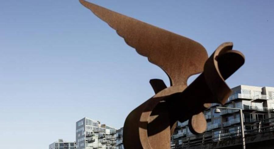 Udlandet sætter flere og flere penge i det danske ejendomsmarked. Dermed bliver der frigjort midler til at sætte gang i nyt boligbyggeri - f.eks. i Ørestad