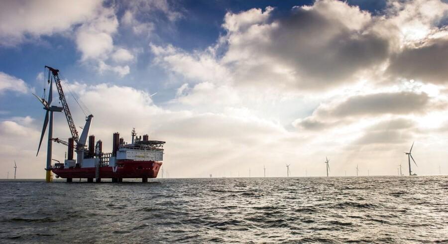 Halvparten DONG Energys ejerandel af verdens største vindmøllepark London Array har indbragt en kæmpegevinst.