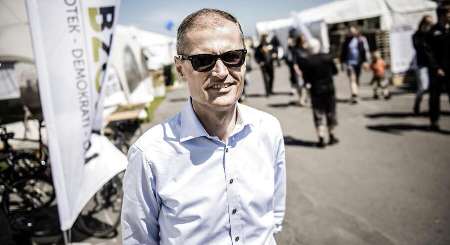 Ditlev Engel på Folkemøde på Bornholm 2015.