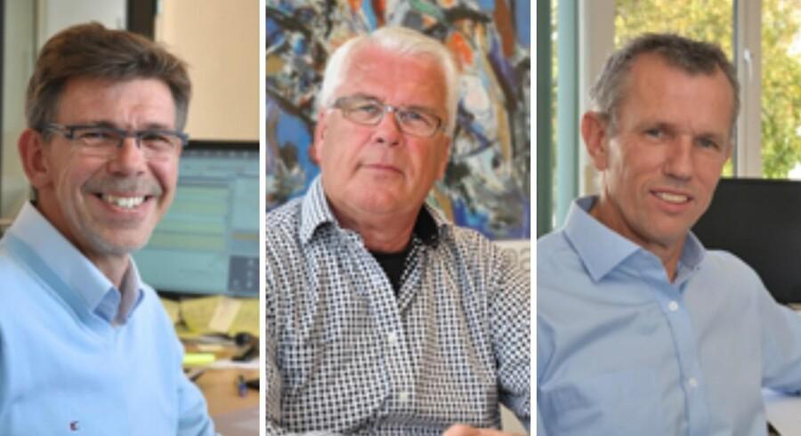 De tre airteam-stiftere Peter Bentzen, Flemming Møller og Poul Pihlmann (adm. dir.) får med en kapitalindsprøjtning fra den svenske kapitalfond Ratos mulighed for at ekspandere.