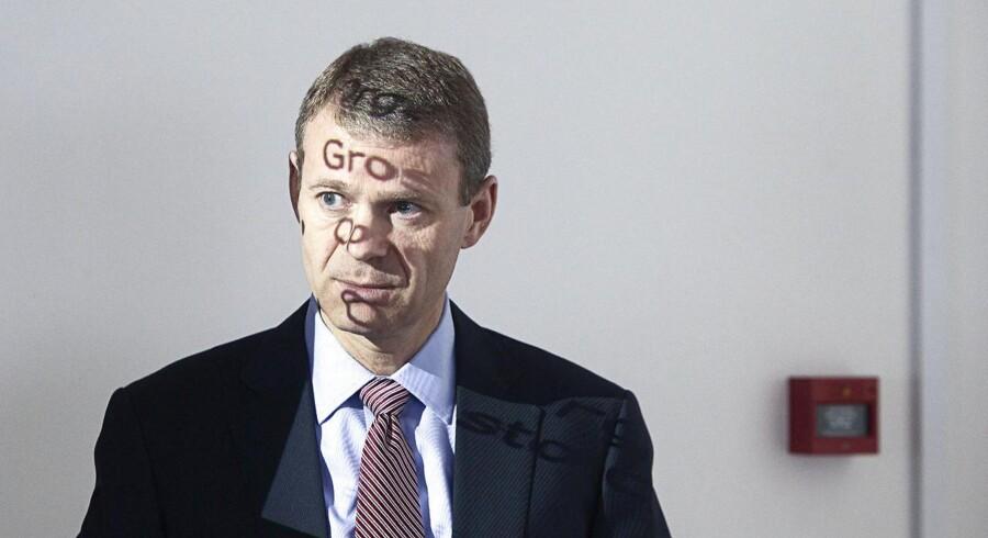 Carlsbergs kvartalregnskab, Jørn P. Jensen, CEO, Vice Administrerende Direktør. (Foto: Jonas Skovbjerg Fogh/Scanpix 2014)