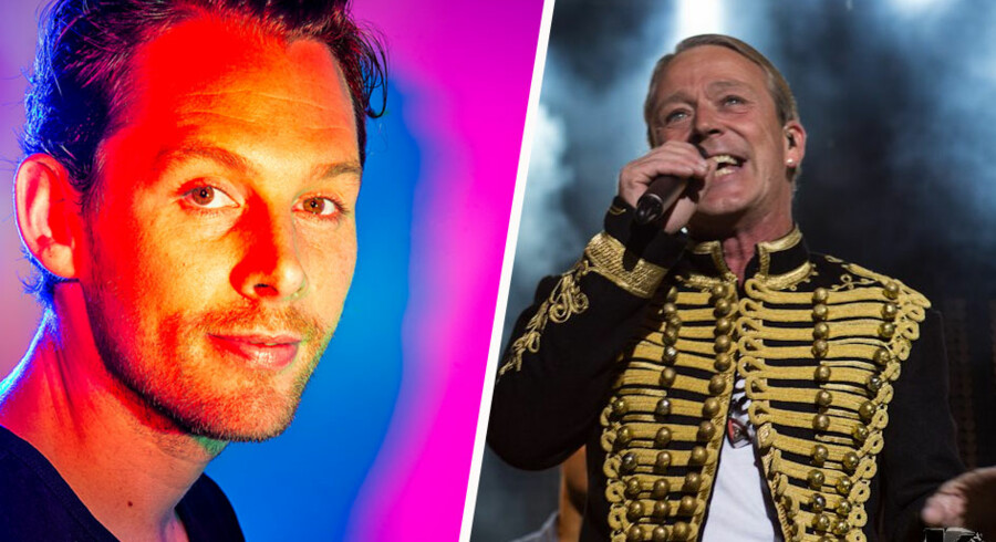Rasmus Seebach og Thomas Helmig er bagge klar med nye album - lige før og lige efter weekenden.