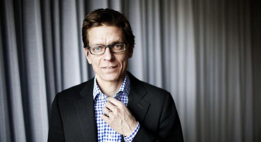 Lars Frelle-Petersen konstitueres som direktør for den nye Digitaliseringsstyrelsen. Foto: Erik Refner