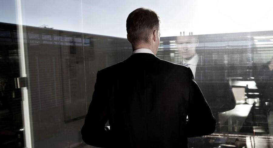 Topchef Henrik Poulsen i DONG Energys hovedkvarter i Gentofte.