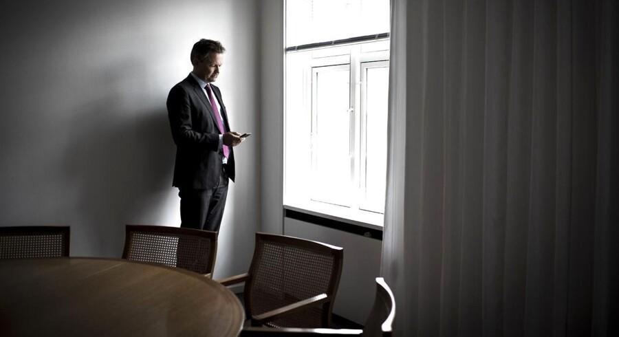Portræt af bankernes nye lobbyist; Ulrik Nødgaard, der er blevet ny direktør i Finansrådet.