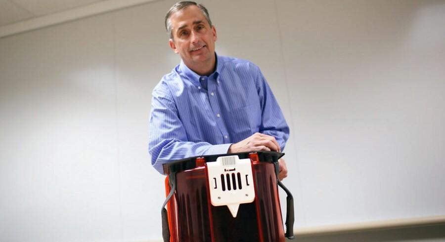 Han er manden, der skal føre chipgiganten Intel videre: 52-årige Brian Krzanich overtager 16. maj topposten. Arkivfoto: Robert Galbraith, Reuters/Scanpix
