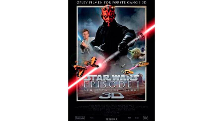 Det giver faktisk god mening at lave »Star Wars Episode 1: Den usynlige fjende« fra 1999 i 3D. George Lucas' flamboyante rumsaga er nemlig som skabt til flere dimensioner.