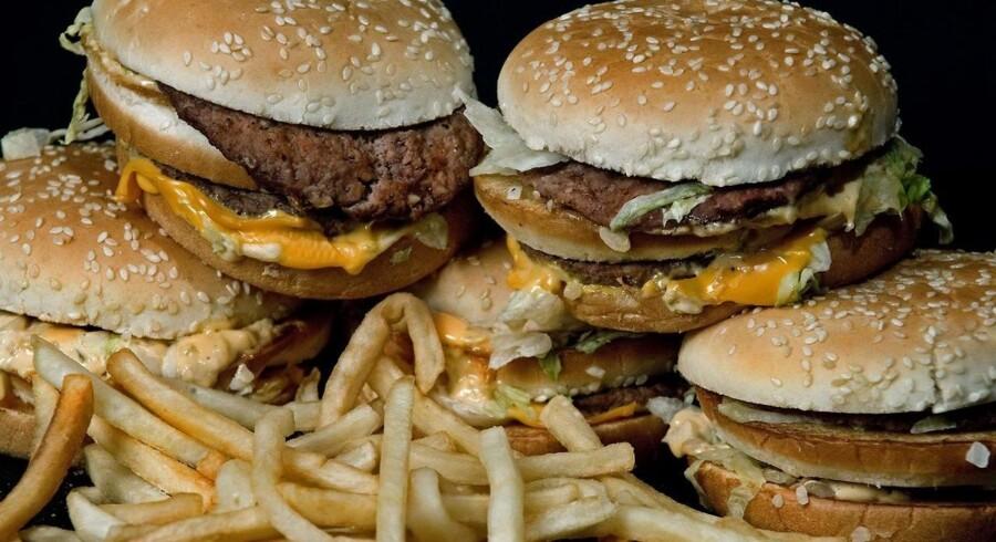 McDonald's må konstatere, at amerikanerne sætter tænderne i færre af kædens burgere