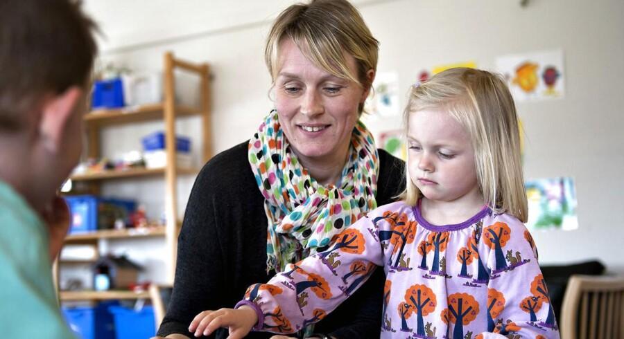 Pædagogerne får i fremtiden en mere specialiseret uddannelse.