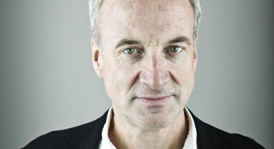 Jens Christian Hansen, erhvervskommentator.
