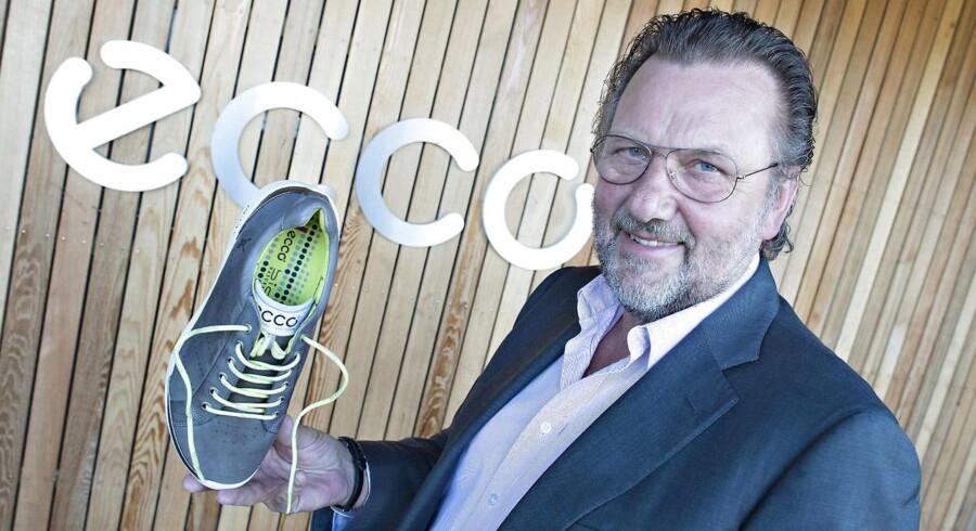 Ecco-direktør Dieter Kasprzak glæder sig over endnu et godt årsregnskab.
