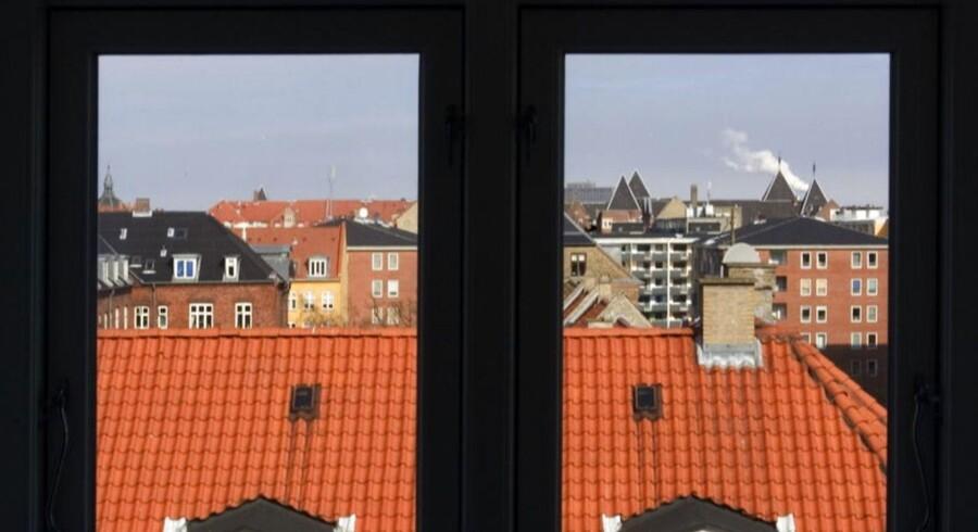 Byens tagboliger på Frederiksberg.
