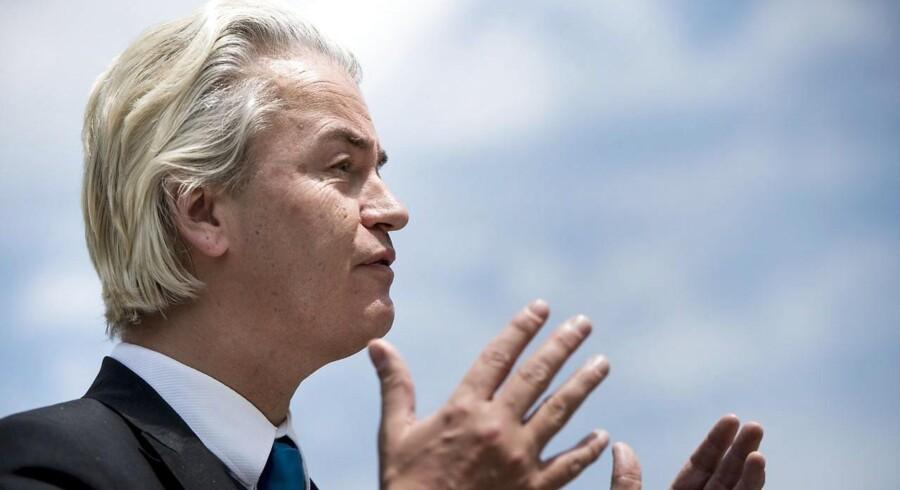 Arkivfoto: Geert Wilders.