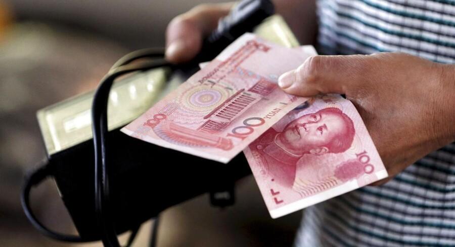 Den aftagende vækst i Kinas økonomi lægger en dæmper på opsvinget i Danmark