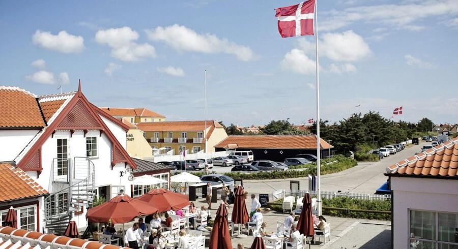 Ruths Hotel, som ligger i det gamle Skagen.