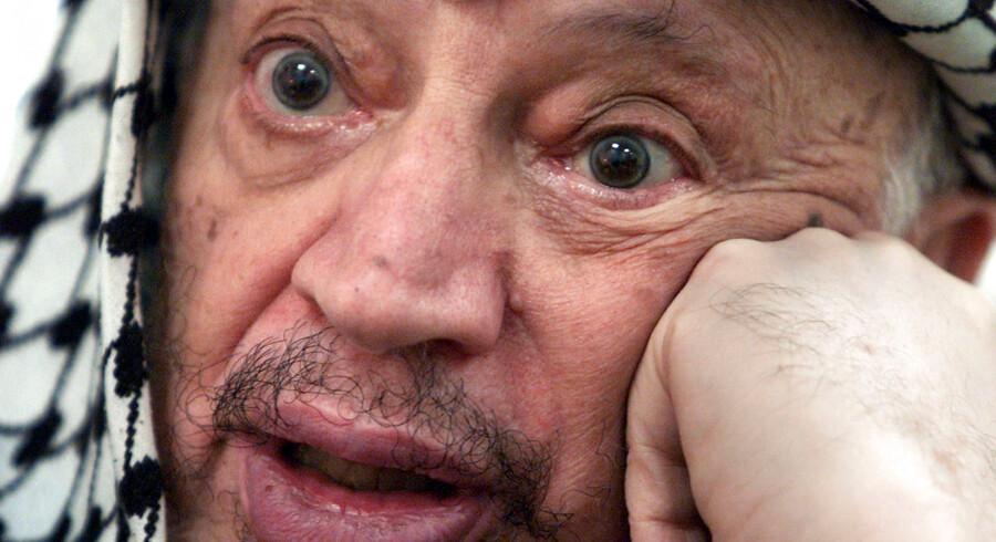 Palestinensernes afdøde præsident Yassir Arafats lig skal nu graves op og undersøges for forgiftning. Han døde i 2004.