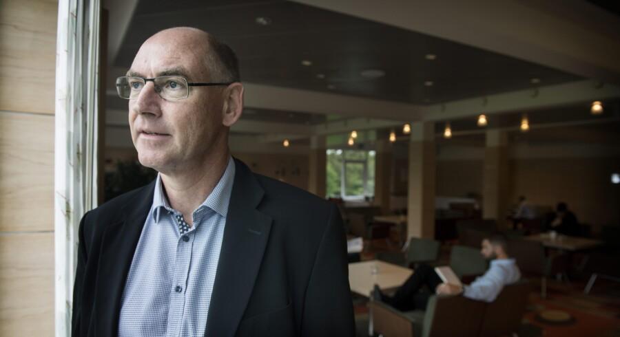 Direktør for Saniona, Jørgen Drejer, mener ikke, at hans virksomhed havde udviklet sig så hurtigt og?positivt, hvis ikke den var blevet noteret på den svenske minibørs. Foto: Liselotte Sabroe