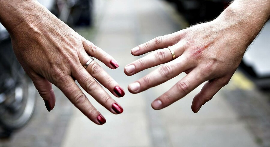 Færre skriver ægtepagter trods flere skilsmisser.