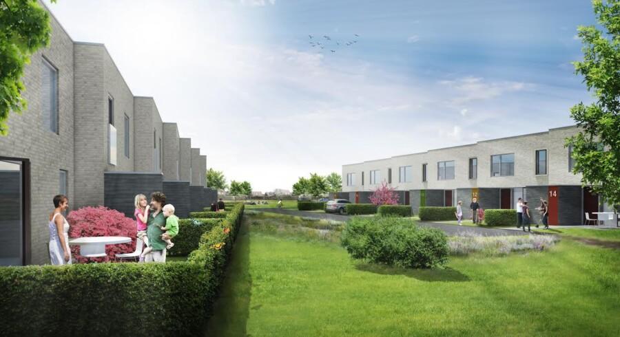 Glostrup får en ny bebyggelse, Skovkanten med 48 rækkehuse. Bag projektet står det familieejede projektudvikler REKA Gruppen og typehusfirmaet Danhaus. V