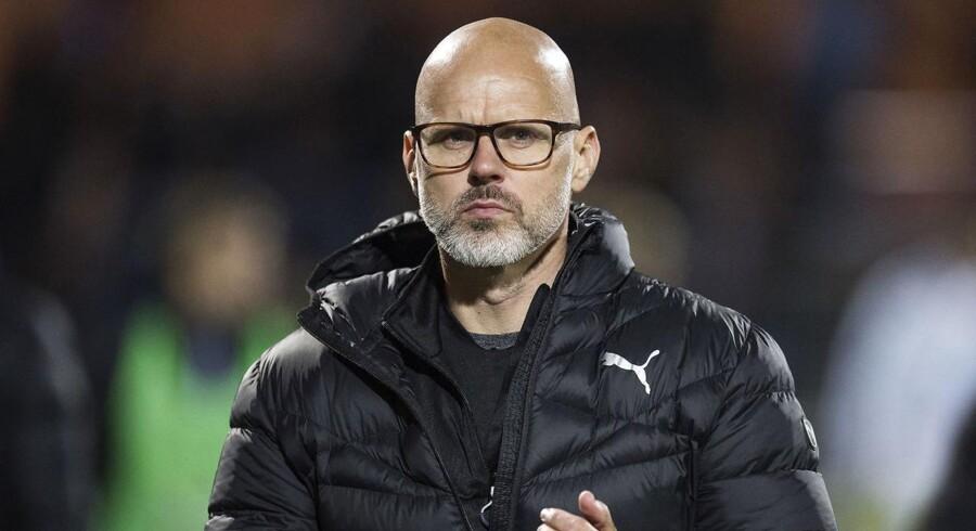 Randers FCs cheftræner Olafur Kristjansson.