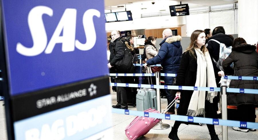 Kabinepersonalet i SAS nedlagde arbejdet, og det endte med at koste SAS over 40 mio. kroner.