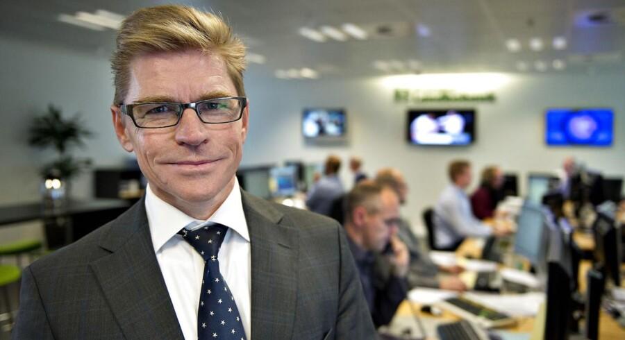 John Fisker, direktør Ringkjøbing Landbobank.