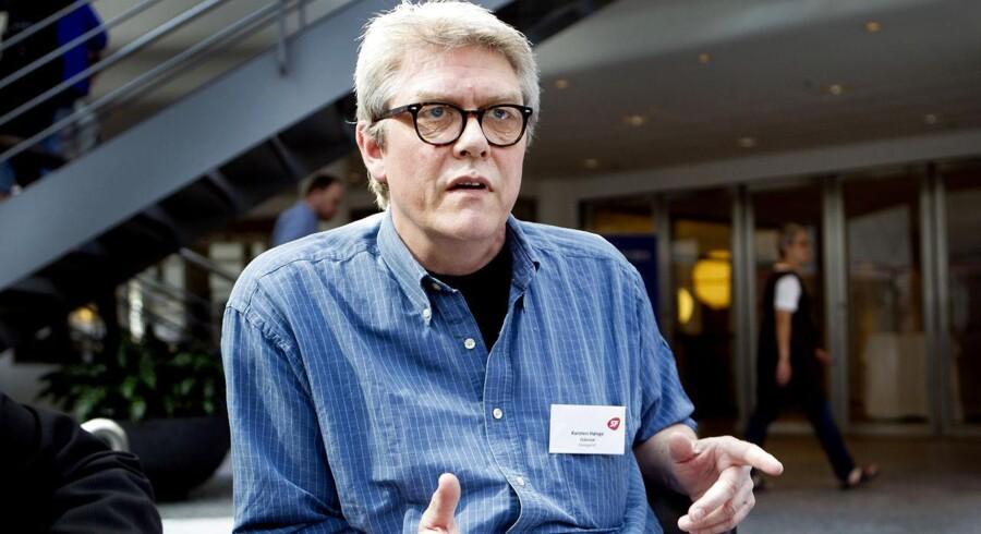 Carsten Hønge fremsatte på SFs landsrådsmøde et forslag om at få ændret dele af den nye offentlighedslov