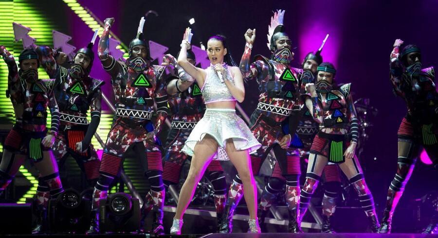 Katy Perry besøgte lørdag BOXEN i Herning.