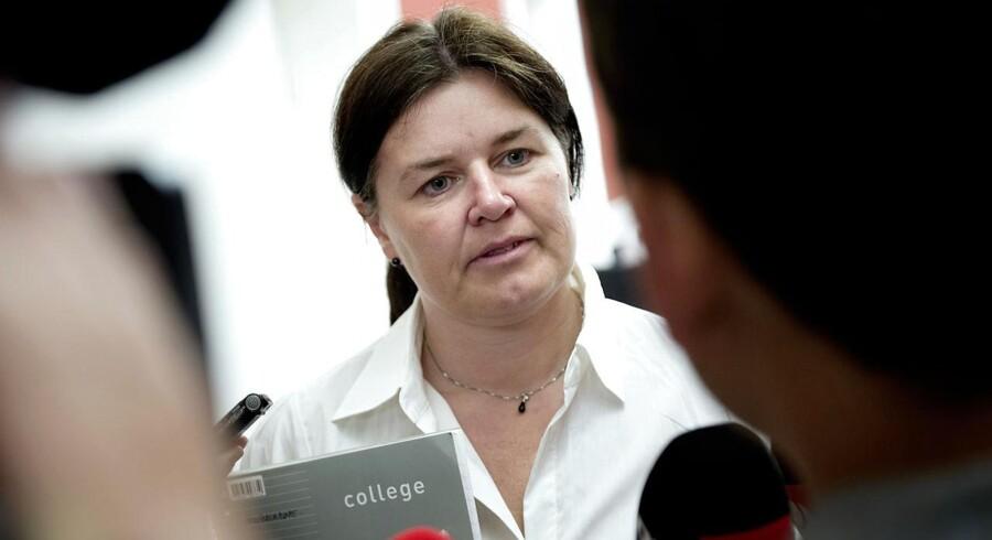 SF's retsordfører Karina Lorentzen er imod regeringens ønske om øget brug af forældrepålæg. Foto: Keld Navntoft