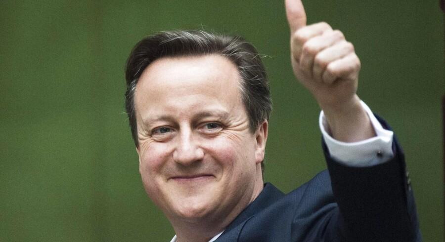 Få timer før den britiske exit-måling talte de konservative om, at David Cameron var træt og færdig. Men resultaterne gjorde arbejdet for ham – og det er en løfterig pointe.