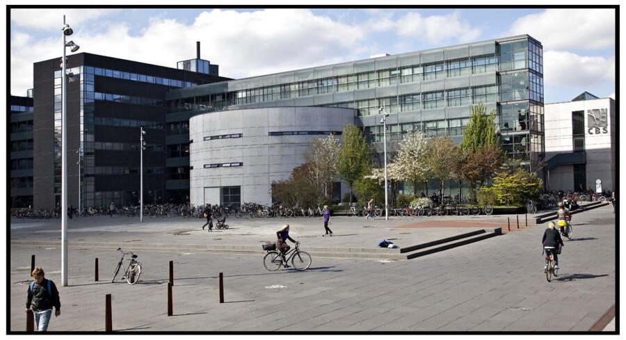 CBS Copenhagen Business School på Frederiksberg.