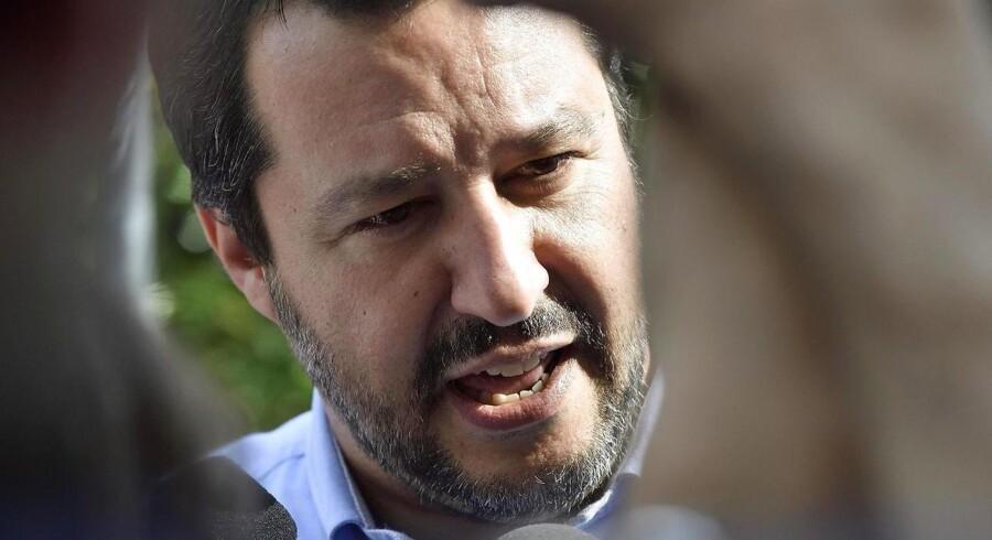 Lederen af Lega, Matteo Salvini.