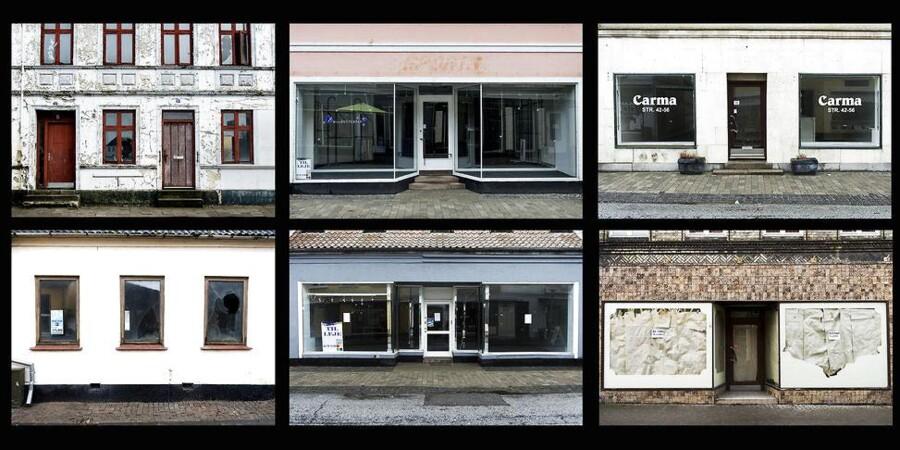 Butiksdøden i Lolland Kommune er udtalt. Det er antallet af kontanthjælpsmodtagere også¨.