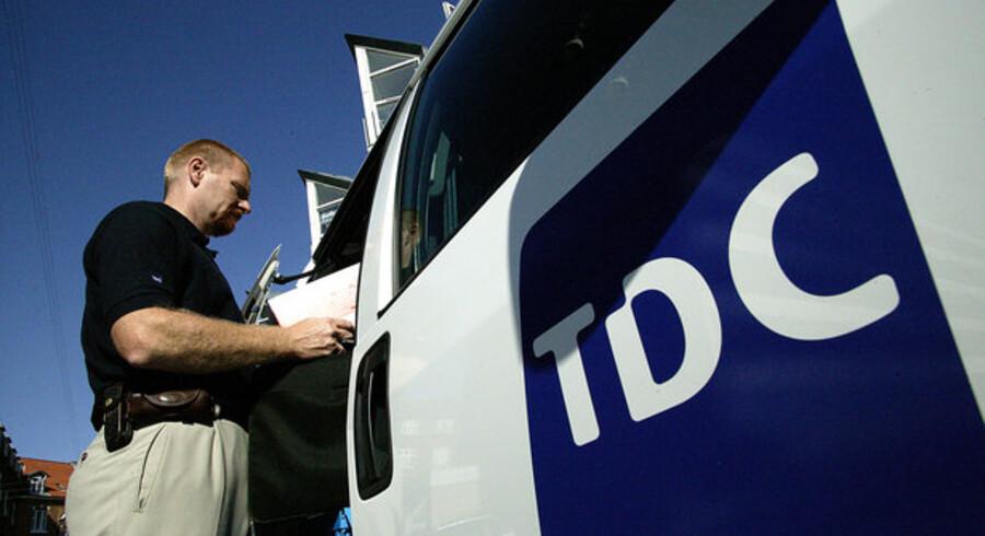 Endnu en gang er der klare tegn på kursmanipulation i TDC-aktier.