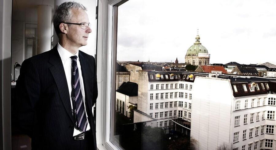 Finansiel Stabilitet med øgenavnet »statens skraldespandsselskab for krakkede banker« er for nu færdig med oprydningen efter finanskrisen, men der kan komme en ny runde, siger adm. direktør Henrik Bjerre-Nielsen.