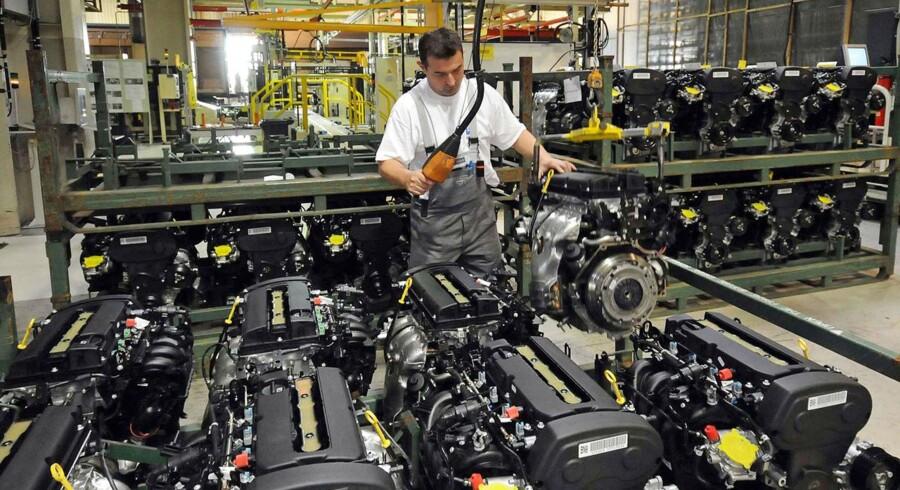 PMI-barometeret over indkøbschefernes tillid i den tyske fremstillingssektor var i oktober på 52,1 ifølge den endelige opgørelse.