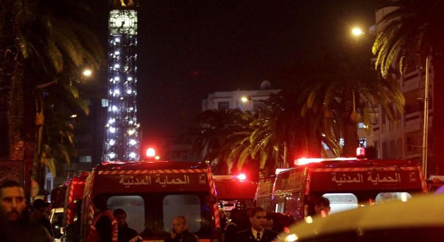 IS påstår, at de stod bag terrorangrebet i Tunis.