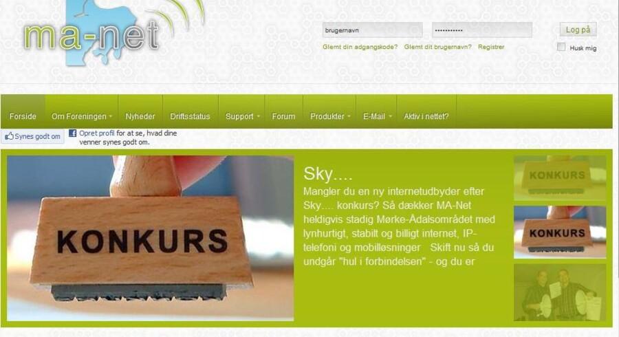 På Djursland har man gennem ti år selv sikret sig bredbåndsforbindelser. Det kan Skylines kunder nu nyde godt af.