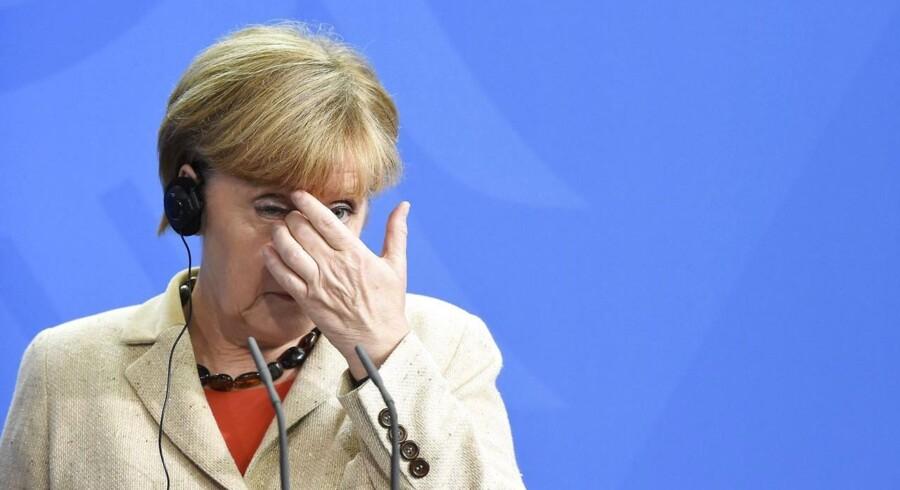 Hidtil har den tyske regering ventet en økonomisk vækst i år på 1,8 procent, men det bliver ikke til mere end 1,2 procent, venter regeringen nu.