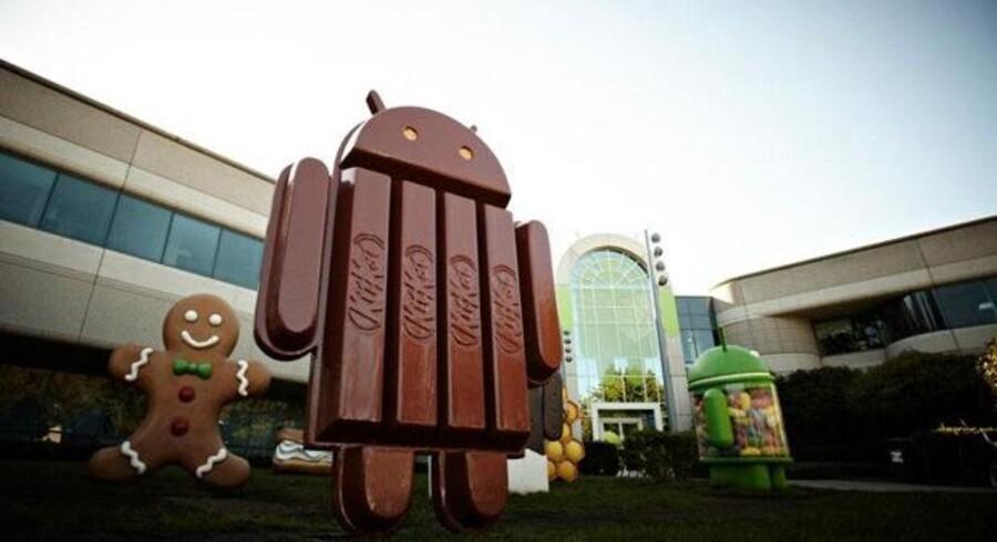 Google giver en smagsprøve af næste version af Android, 4.4 Kit Kat, og deres næste topmodel. Foto: Google Inc