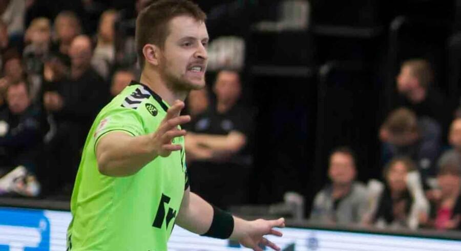 Rasmus Bertelsen skifter fra Ribe-Esbjerg til ligarivalen Sønderjyske. Free/Jens Christiansen, Jcfoto