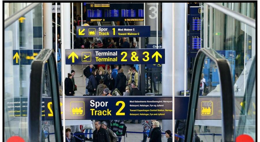 En masse rejsende i påskeferien betød, at antallet af passagerer i Københavns Lufthavn i marts steg med 3,3 pct. i forhold til samme måned i fjor. ARKIVFOTO
