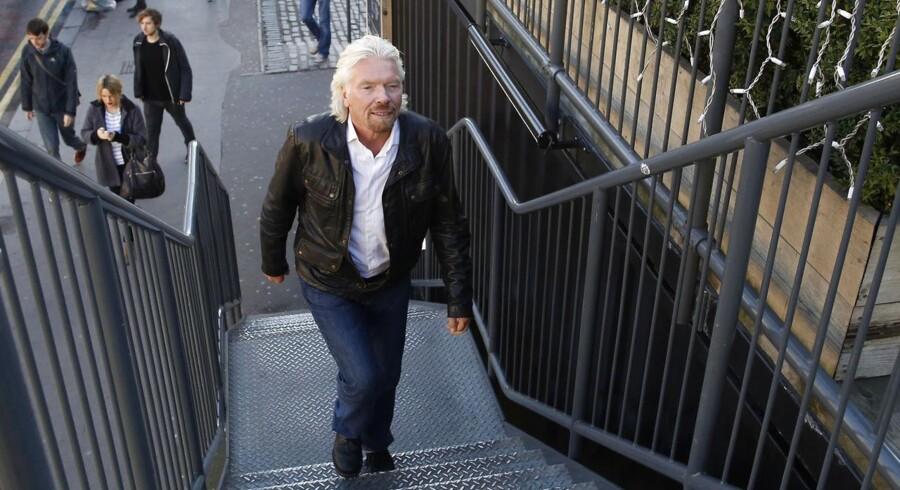 Sir Richard Branson, stifter af Virgin Group, vil på børsen med selskabet.