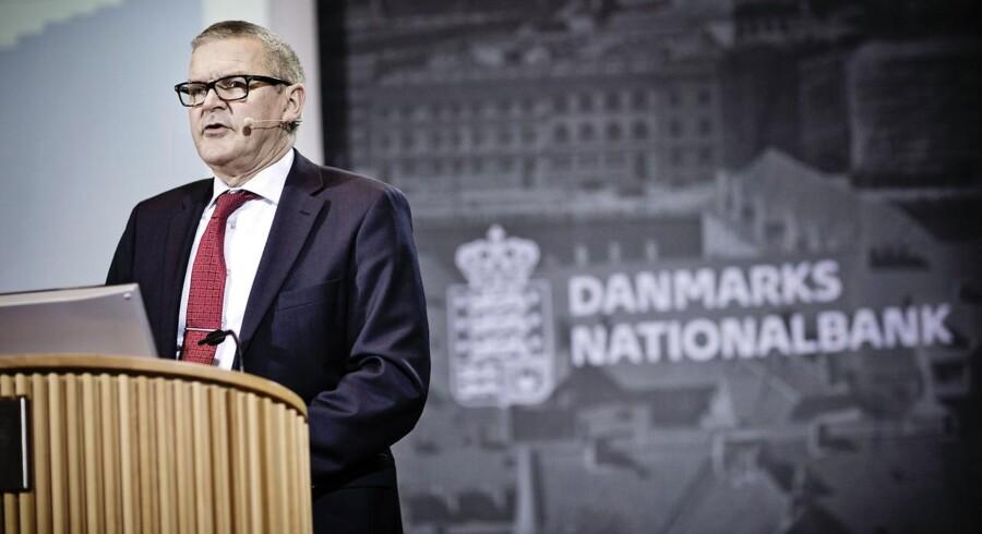 Direktør Lars Rohde i Danmarks Nationalbank forudser, at dansk økonomi stadig er på vej op i fart.