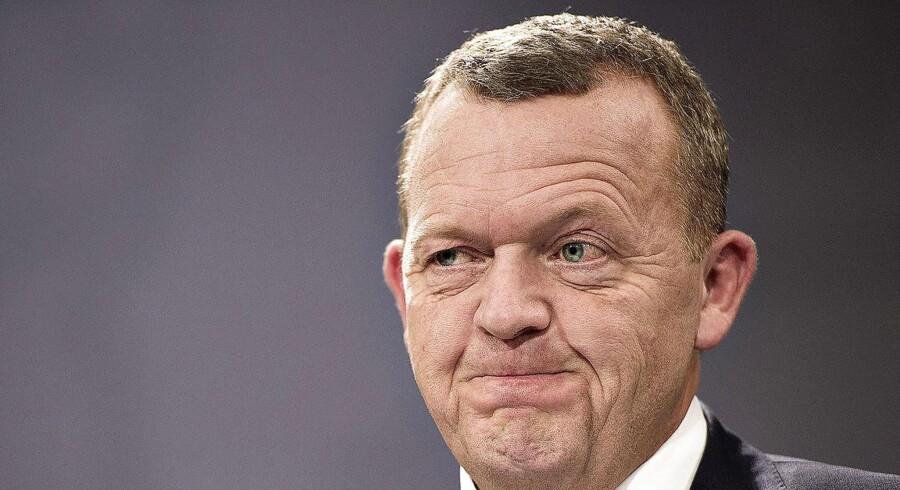 Hvis der var folketingsvalg i morgen, ville det være højst usikkert, om Lars Løkke Rasmussen (V) kunne blive i Statsministeriet.