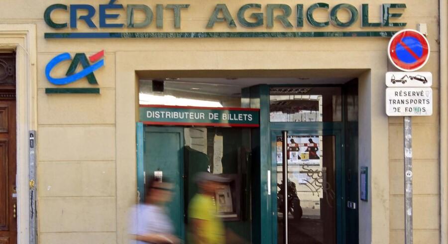 ARKIVFOTO. Credit Agricole